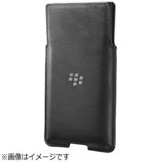 【純正】 BlackBerry PRIV用 Leather Pocket Case ブラック ACC62172001