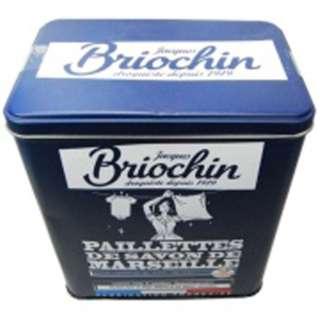 Briochin(ブリオシャン)マルセイユソープ フレーク コレクターズメタルケース 750g〔衣類洗剤〕
