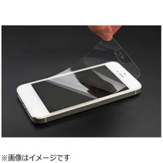 iPhone SE(第1世代)4インチ / 5c / 5s / 5用 衝撃吸収クリスタルフィルム PSE-05