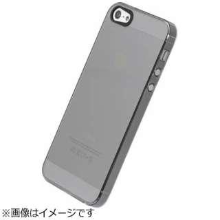 iPhone SE / 5s / 5用 エアージャケット クリアブラック PSE-73 液晶保護フィルム付