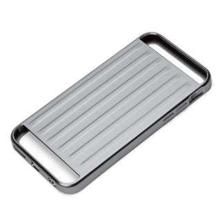 iPhone 6s/6用 アルミニウムケース アタッシュ ブラック PG-I6SAL07BK