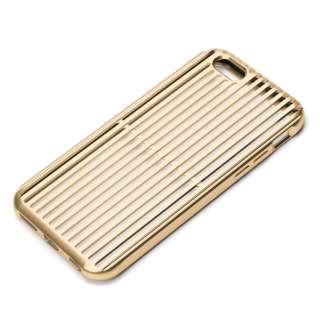 7c57ed331c iPhone 6s/6用 アルミニウムケース スリット ゴールド PG-I6SAL02GD. PGA
