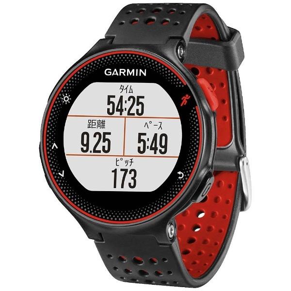 GPSマルチスポーツウォッチ 「ForeAthlete235J」 37176H (BlackRed)