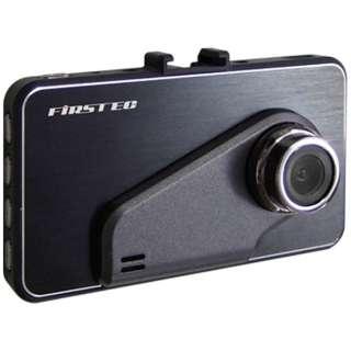 ドライブレコーダー FIRSTEC ブラック FT-DR100SE [一体型 /HD(100万画素)]