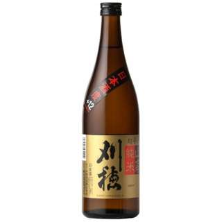 刈穂 山廃純米 超辛口 720ml【日本酒・清酒】