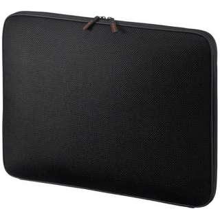 タブレット対応[17~17.3インチタブレット] 低反発3Dメッシュケース ブラック IN-SG17BK
