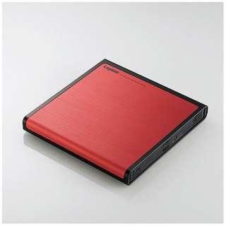 LDR-PMJ8U2LRD (USB2.0ポータブルDVDドライブ 書込ソフト付き/レッド)