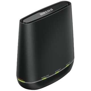 WCR-1166DS 無線LAN親機 wifiルーター 866+433Mbps ブラック [ac/n/a/g/b]