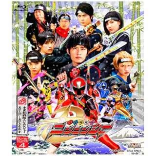 手裏剣戦隊ニンニンジャー Blu-ray COLLECTION 4 【ブルーレイ ソフト】