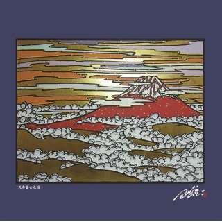 日本風景の切画クロス(天寿富士)