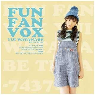 渡部優衣/FUN FAN VOX 初回限定盤 【CD】