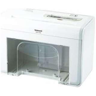 HES-T02 電動シュレッダー ホワイト [クロスカット /A4サイズ /CDカット対応]