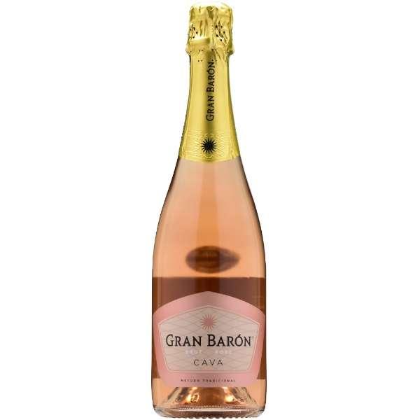 [高品質ロゼスパークリングワイン]グラン・バロン ブリュット・ロゼ 750ml【スパークリングワイン】