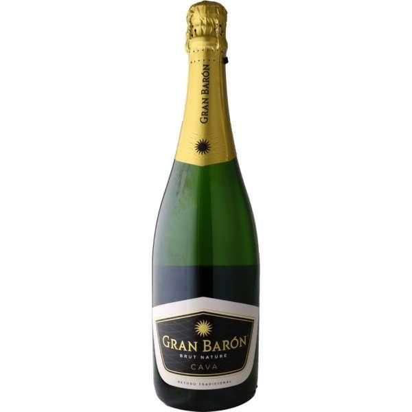 【高品質スパークリングワイン】グラン・バロン ブリュット・ナチュレ 750ml【スパークリングワイン】