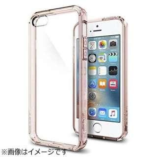 iPhone SE(第1世代)4インチ / 5s / 5用 ウルトラハイブリッド ローズクリスタル 041CS20172