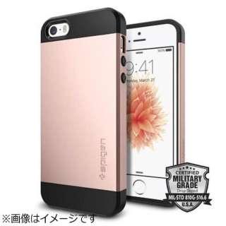 iPhone SE(第1世代)4インチ / 5s / 5用 スリムアーマー ローズゴールド 041CS20176