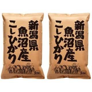 新潟県魚沼産こしひかり 10kg(5kg×2袋)【お米】