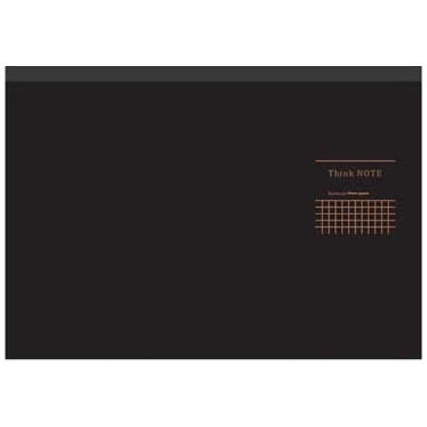 [ノート] ナカバヤシ ロジカル・シンクノート ブラック・グレー (A4ヨコ・5mm方眼・70枚) RP-A402DN