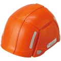 Folding disaster prevention helmet bloom orange NO.100