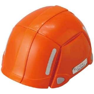 折りたたみ防災ヘルメット ブルーム オレンジ  NO.100