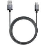 [ライトニング] ケーブル 充電・転送 2.4A (2.0m・ブラック)MFi認証 64663 [2.0m]