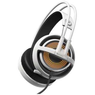 51205 ゲーミングヘッドセット Siberia 350 ホワイト [USB /両耳 /ヘッドバンドタイプ]