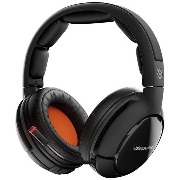 61302 ゲーミングヘッドセット Siberia 800 [ワイヤレス(USB)+有線 /両耳 /ヘッドバンドタイプ]