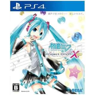 初音ミク -Project DIVA- X HD【PS4ゲームソフト】