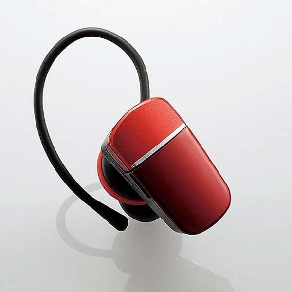LBT-HS40MMPRD ヘッドセット レッド [ワイヤレス(Bluetooth) /片耳 /イヤフックタイプ]