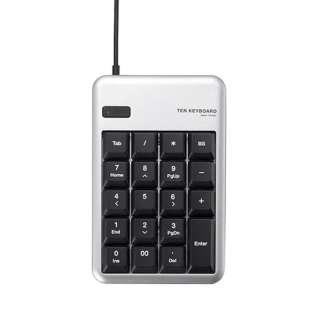 TK-TCM012 テンキー シルバー [USB /有線]