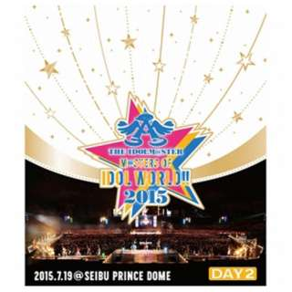 THE IDOLM@STER M@STERS OF IDOL WORLD!!2015 Live Blu-ray Day2 【ブルーレイ ソフト】