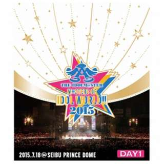 THE IDOLM@STER M@STERS OF IDOL WORLD!!2015 Live Blu-ray Day1 【ブルーレイ ソフト】