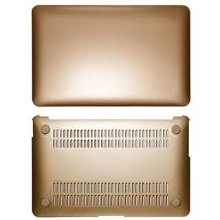 ハードケース[11インチMacBook Air用](ゴールド) OWL-CVMBA11-GO
