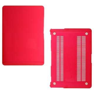 ハードケース[13インチMacBook Air用](クリアレッド) OWL-CVMBA13-CRD