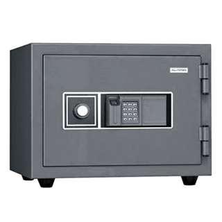 KMX-20FPE 耐火金庫 ダークグレー [テンキー式+指紋照合式 /2時間耐火]