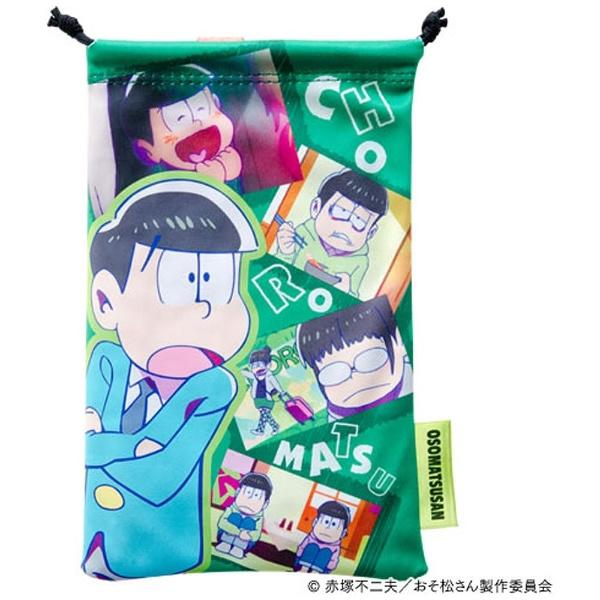 おそ松さん クリーナー巾着(ゲーム機用) OSG01-3 [チョロ松 Ver.]