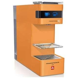 Y3 カプセル式エスプレッソマシン ILLY(イリー)FrancisFrancis! オレンジ