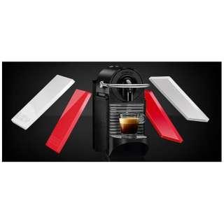 D60-WR カプセル式コーヒーメーカー Pixie Clips (ピクシークリップ) ホワイト&コーラルレッド