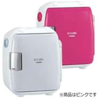 HR-DB06P コンパクト電子保冷保温ボックス?[2電源式] D-CUBE S ピンク