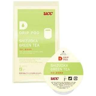 UCC DRIP POD 「深蒸し静岡煎茶」 (8個入) DPGT001