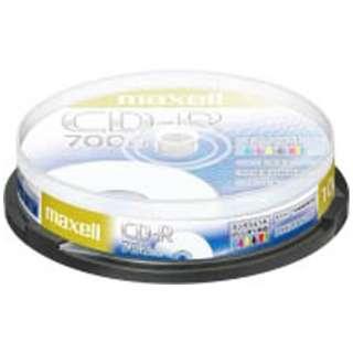 CDR700S.PNW.10SP データ用CD-R ホワイト [10枚 /700MB]