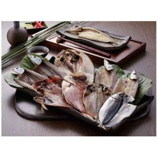 沼津「奥和」の干物詰合せ【海鮮ギフト】 カタログNO:3102