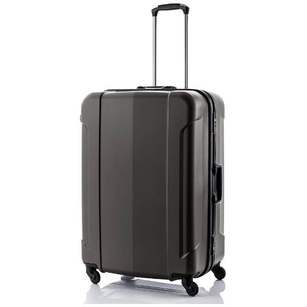 3ed05e4627 TSAロック搭載フレームスーツケース「GRAN GEAR」 Lサイズ(96L)ブラウン 機内無料手荷物預け制限158cm対応で容量最大級!