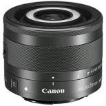 カメラレンズ EF-M28mm F3.5 マクロ IS STM ブラック [キヤノンEF-M /単焦点レンズ]