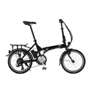 20型 電動アシスト折りたたみ自転車 A2B KUO 20(オニキスブラック/外装7段変速) 82702-01
