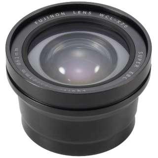 ワイドコンバージョンレンズ(ブラック) WCL-X70