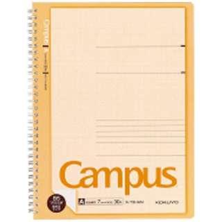 [ノート] キャンパス ツインリングノート プリント貼付用 A罫 (B5ノビ・普通横罫・30枚) ス-T3HAN