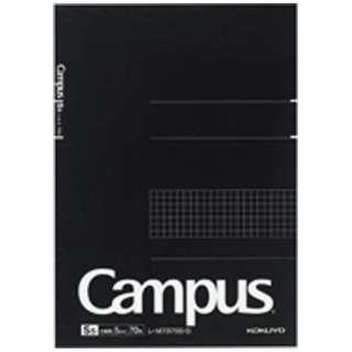 [ノート] 大人キャンパス ノートパッド 方眼罫・カットオフ (B5・5mm方眼罫・70枚) レ-M737S5-D