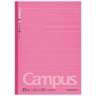 [ノート] キャンパスノート ドット入り罫線 カラー表紙 B罫 ピンク (セミB5・中横罫・30枚) ノ-3CBT-P