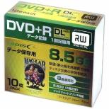 HDD+R85HP10SC データ用DVD+R Hi-Disc [10枚 /8.5GB /インクジェットプリンター対応]